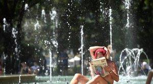 Megdőlt a hajnali melegrekord Budapesten