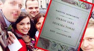 Titokban férjhez ment Orbán Viktor második lánya, Sára