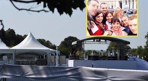 Óriási tűzijáték és hangos zenekar is volt Orbán lányának titkos lagziján
