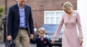 Négyévesen suliba jár György herceg