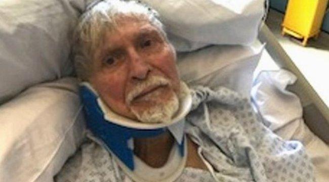 Szánalmas, miért törték el három csigolyáját a 82 éves rákos, Parkinson-kóros betegnek