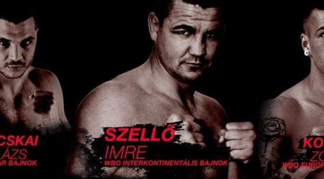 Profi boksz pénteken Várpalotán és az M4 Sport csatornán (x)