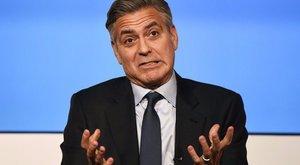 Ezért sír napi négyszer George Clooney