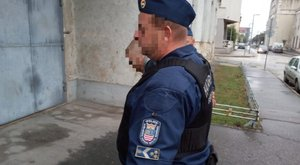 Friss! Elkapták a Győrben elszökött rabot – videó
