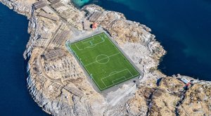 Ennél szebb futballpályát el sem lehet képzelni