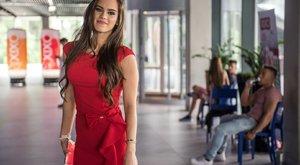 Félmeztelenül strandolt Magyarország legszebb nője – fotó