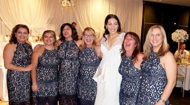 Ennél cikibb, nem nagyon történhet egy esküvő vendégével. Pláne hattal – fotó
