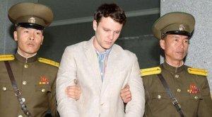 Halálra kínozták Észak-Koreában az amerikai egyetemistát szülei szerint