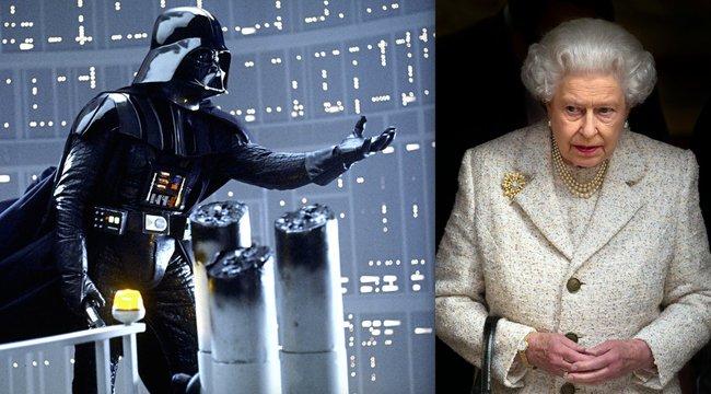 Nem fogadja ErzsébetkirálynőDarth Vadert