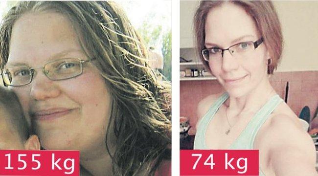 81 kilótól szabadult meg Tünde