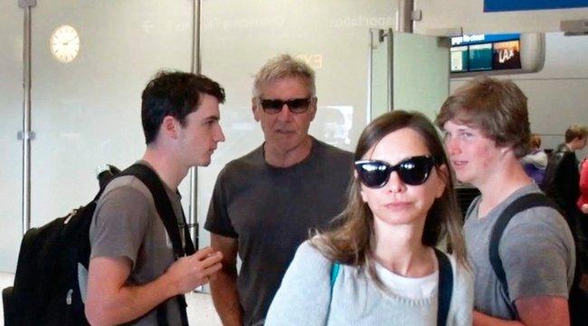 Nem kíváncsiak Harrison Fordra fiai