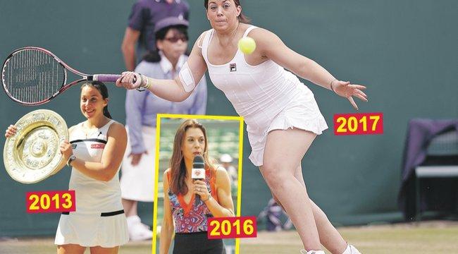 Visszahízott és újra teniszezik a Wimbledon-győztes