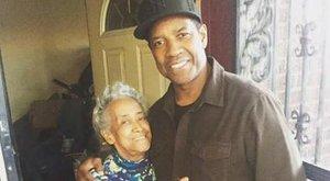 Visongtak Denzel Washingtonért - fotó