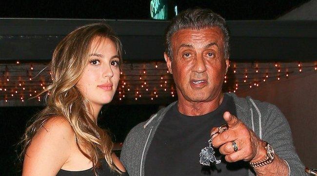 Vigyázat Stallone lányával!
