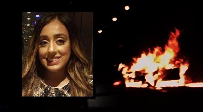 Taxival lépett meg a baleset után, miközben a barátja halálra égett a kocsiban