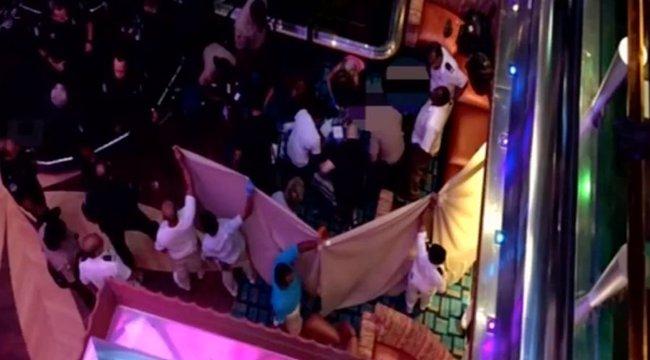 Egy óceánjárón zuhant a halálba egy 8 éves kislány – videó