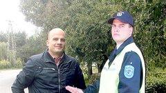 Bankban dolgozik a farost rendőr arca