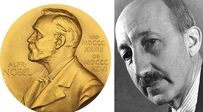 Elárverezik Hevesy György Nobel-díját