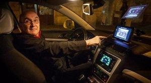 Időutazásra visz a budapesti taxis - fotók