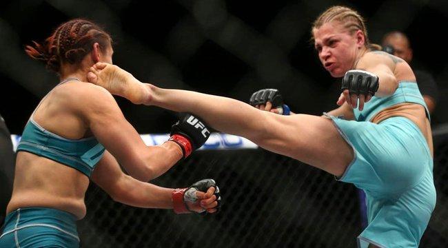 UFC: hüvelykujja bánta Melinda vegasi bemutatkozását