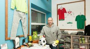 Király Gábor már a foci utáni életére is felkészült