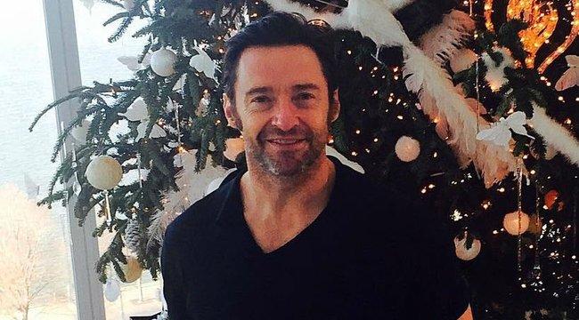 Egy hétig józanodik karácsonykor Hugh Jackman - így ünnepelnek a sztárok