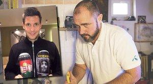 Egyedi sípcsontvédőket készít Zsolt a focistáknak