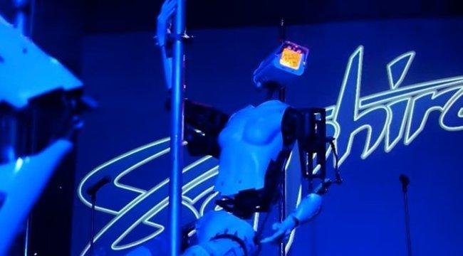 Mi jöhet még a rúdtáncos robotok után?! videó