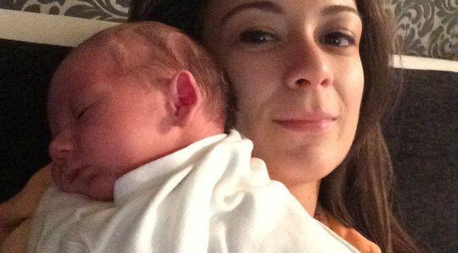 Megszületett a SportTv műsorvezetőjének babája