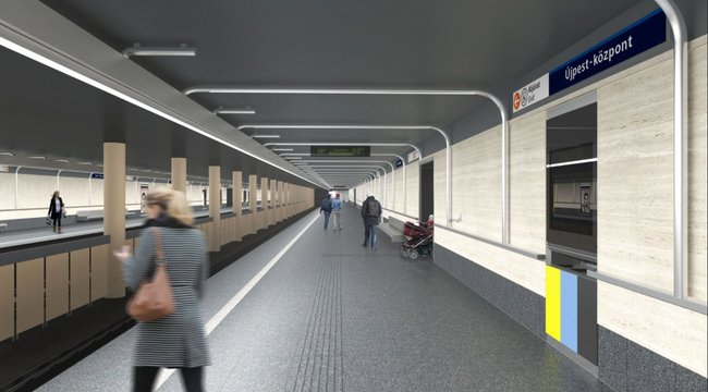 Megváltozik a 3-as metró négy megállójának a neve