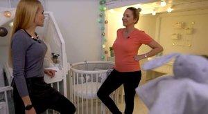 A szülés után meg kell műteni Kapócs Zsókát