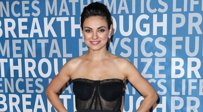 Nagyon remélik, Mila Kunis nem fogadja el a megkapott díjat