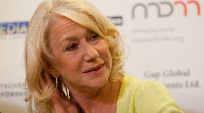 Elfelejtette az esküvőjét Helen Mirren