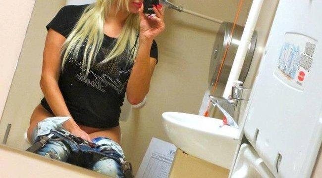 A női mosdó, ahol az igazi buli zajlik - videó