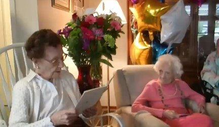 A sör és a sült krumpli a hosszú élet titka - állította 100. születésnapján ez a nő