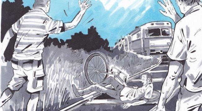 Díszletesek húzták le Nyíregyházán a síneken alvó férfit