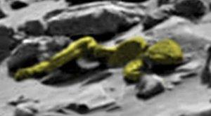 Kis zöld emberke a Marson, hosszú fehér fütyivel