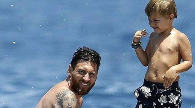 Messi Ibizán kapcsol ki