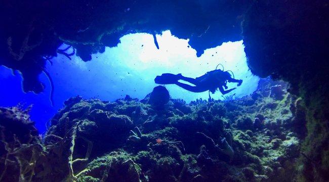 Ólombakancsban merültünk ipari búvárokkal - vaksötétben a víz alatt