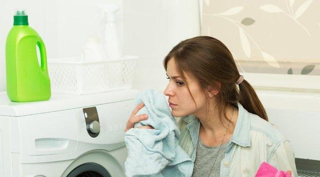 Mitől büdös a frissen mosott ruha?