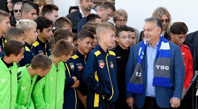 Orbán: a sportKözép-Európaközös nyelve