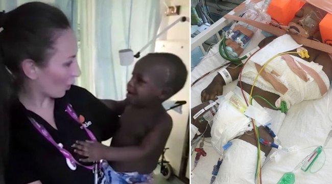 Négy emeletet zuhant a csecsemő, az orvosok is lemondtak róla - ma mégis mosolyog