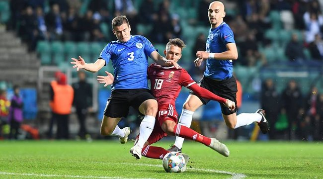 Gólözön és döntetlen! Észtország-Magyarország 3-3