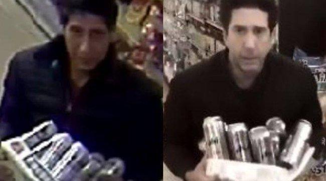Így reagált David Schwimmer a hasonmása által elkövetett rablásra – videó