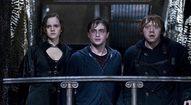 Daniel Radcliffe sámlin állva játszotta Harry Pottert