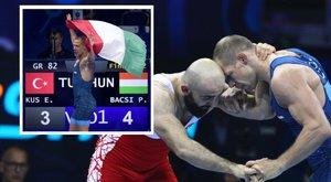 Birkózó világbajnokság:Családja szurkolta kiBácsi aranyát