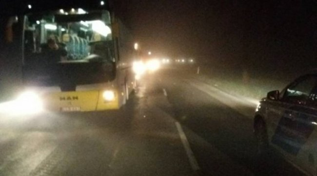 Autóbusz gázolt halálra egy embert hajnalban Szilsárkánynál