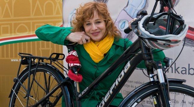 20 éve szenvedélyes bicajos Onódi Eszter