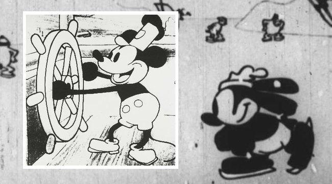 Előkerült Mickey egér elődje