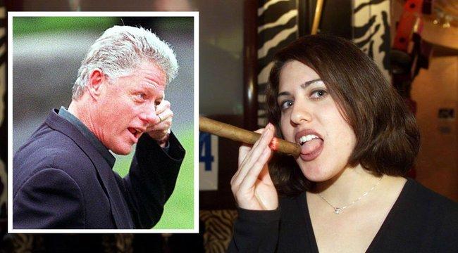 Újabb leleplezés: két éven át hetente tette magáévá Clinton Monica Lewinskyt